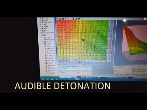 What Audible Detonation Sounds Like During Boost