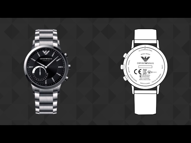 Emporio Armani Connected - Hybrid Smartwatch - Battery Change