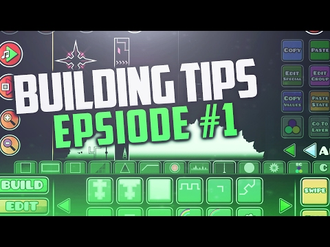 Geometry Dash [2.1] BUILDING TIPS #1