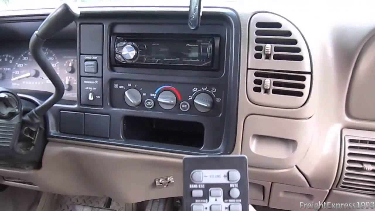 Current Audio Setup For The 1997 GMC Sierra Z71  YouTube