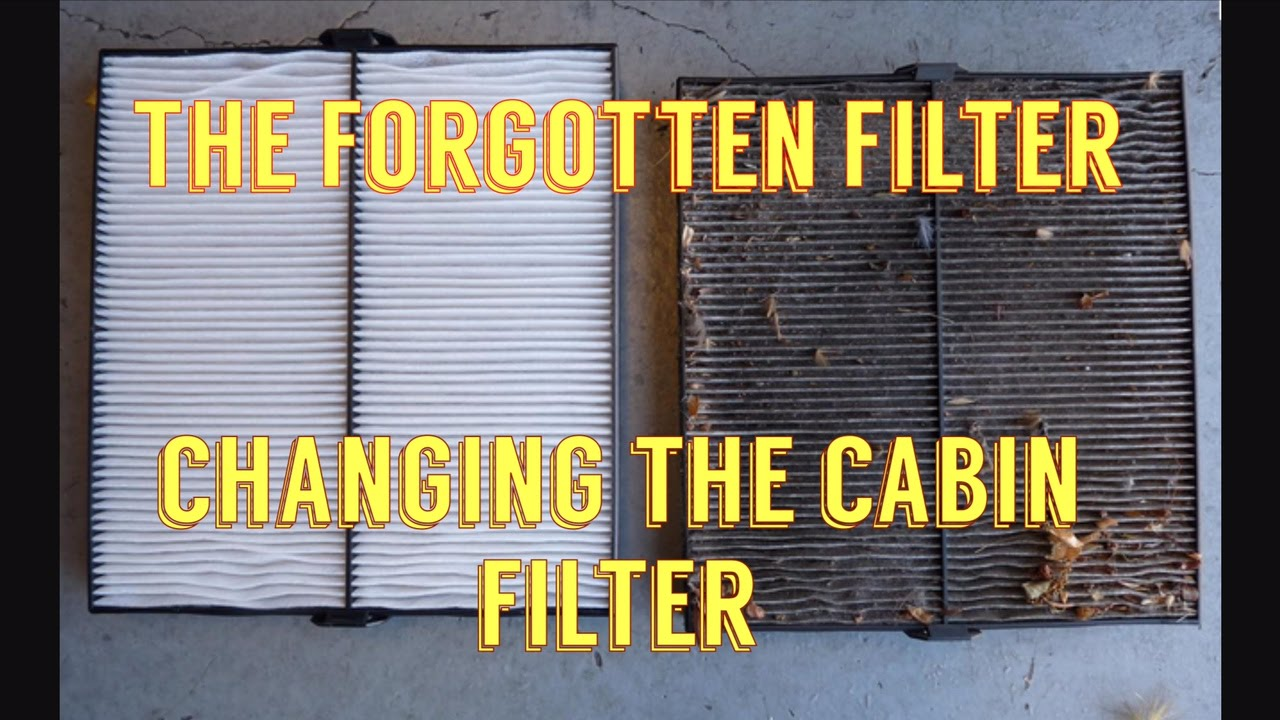Chevy Cruze The Forgotten Filter Cabin Filter Install Do It Yourself
