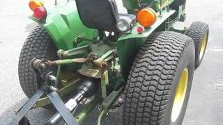 John Deere 750 tractor with cutter for sale