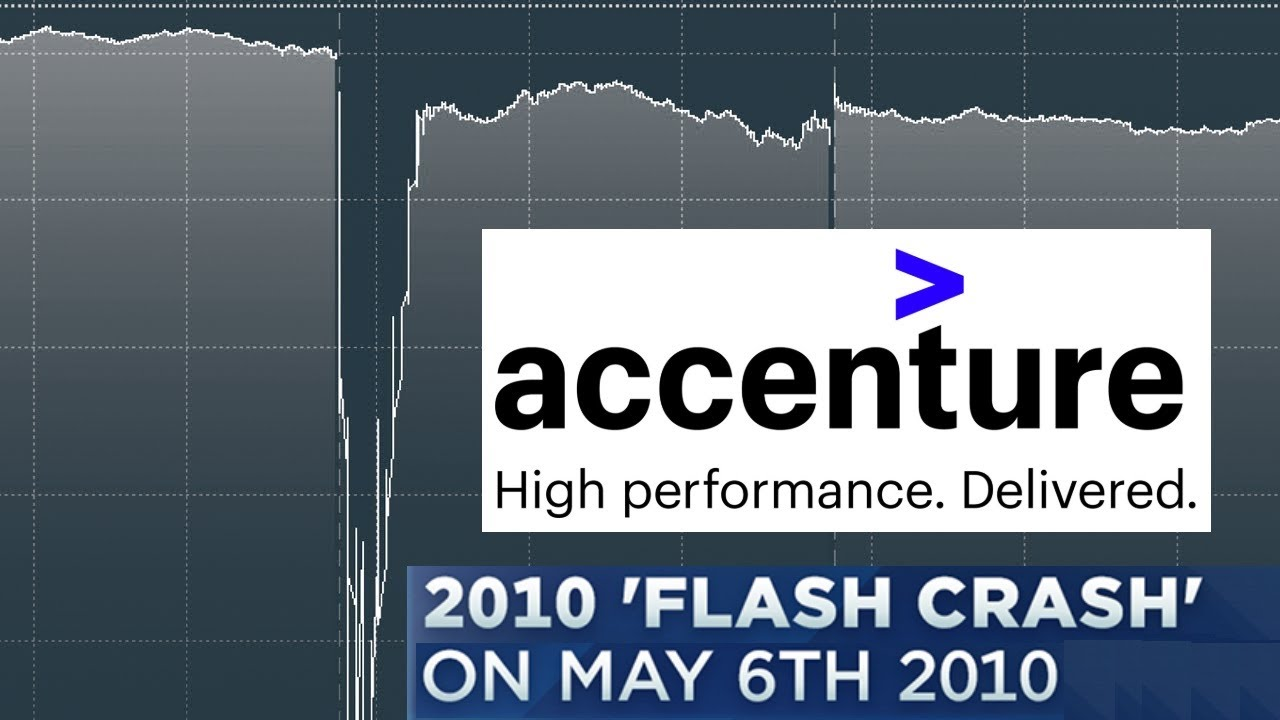 Flash Crash 2010 - Accenture Stock showing the Penny 0.01$ on May 6, 2010