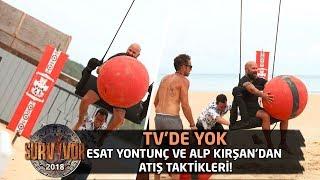 TV'de Yok | Esat Yontunç ve Alp Kırşan'dan atış taktikleri!