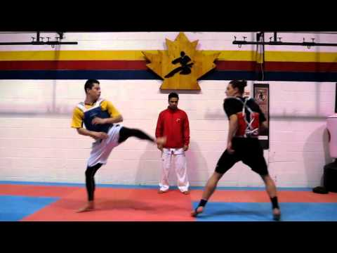 Tae Kwon Do Sparring Tips Authentic Tae Kwon Do 1