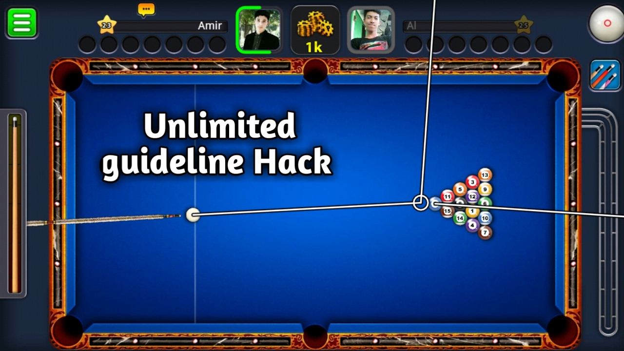 8 BALL POOL HACK MOD UNLIMITED GUIDELINE HACK NO ROOT ...