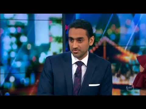 Waleed Aly and Jacqui Lambie talk sharia law and politics in wide-ranging interview on The Project