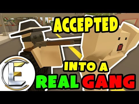 ACCEPTED INTO A REAL GANG | Unturned Gang Roleplay - Gain reputation Smuggling, Interrogations