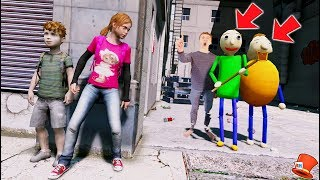 Can YOU Hide From EVIL Baldi's Basics Bully & Principal? (GTA 5 Mods Funny Moments FNAF RedHatter)