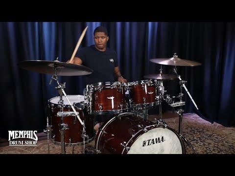 Tama Star Walnut Drum Set 22/10/12/16 - Dark Mocha Walnut