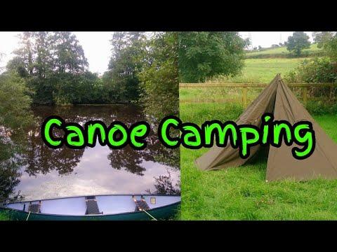 Canoe Camping Ireland River Blackwater