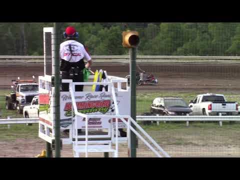 Hummingbird Speedway (7-13-19): Young Guns Jr Sprints - Open Class Heat Race