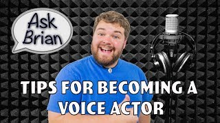 Answering Your Questions About Voice Acting - Ask Brian