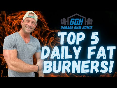 BEST DAILY FAT BURNERS 2021   Top 5 Everyday Fat Burners