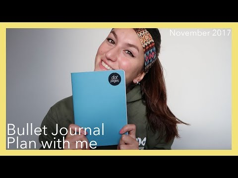 NOVEMBER PLAN WITH ME | Bullet Journal #1