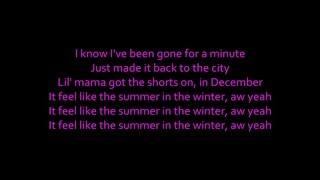KID INK Summer In The Winter Ft Omarion LYRICS