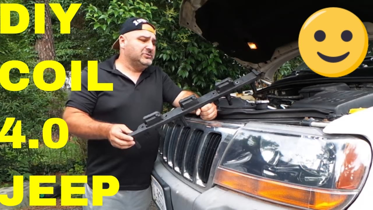 Tips On Replacing Coil Jeep 40 6 Cylinder Engine Youtube 1987 Wrangler Spark Plug Wiring Diagram