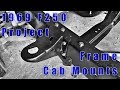 F250 restoration project ? Part 15 Frame Cab Mounts and It's a Rolling Chassis