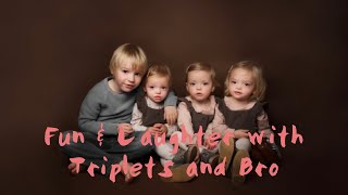 COMEDY CLIP, LAUGHS, TRIPLETS KISSES & CUTENESS