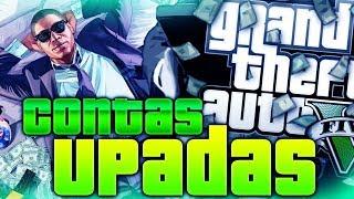 GTA V PC UPANDO CONTA - MOD MENU PC - CONTA DE CLIENTE #5