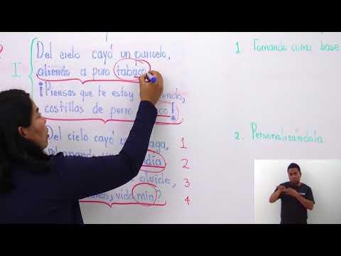 Primaria 3º y 4º clase: 174 Tema: Las coplas