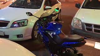 Suzuki gsxr Blue 150cc in hail saudia Arabia