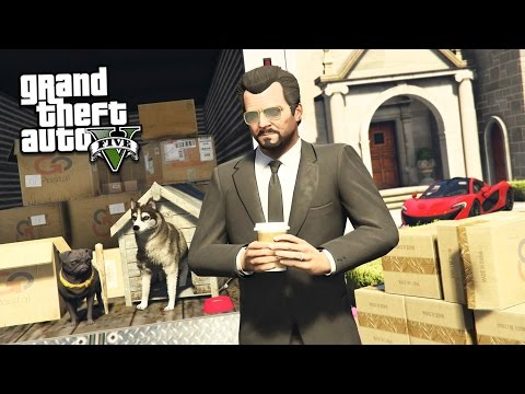GTA 5 Real Life Mod #34 - MOVING OUT & BUYING A MANSION!! (GTA 5 Mods)