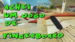 ACHEI UM JOGO DE FINGERBOARD- TRUE SKATE