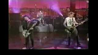 Green Day - Walking Contradiction - Live - Letterman 1996