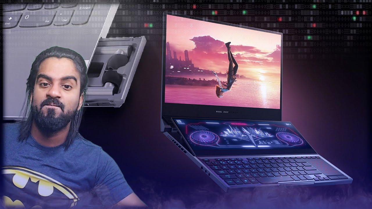 Dual Screen Laptop & Inbuilt Wireless Earbuds