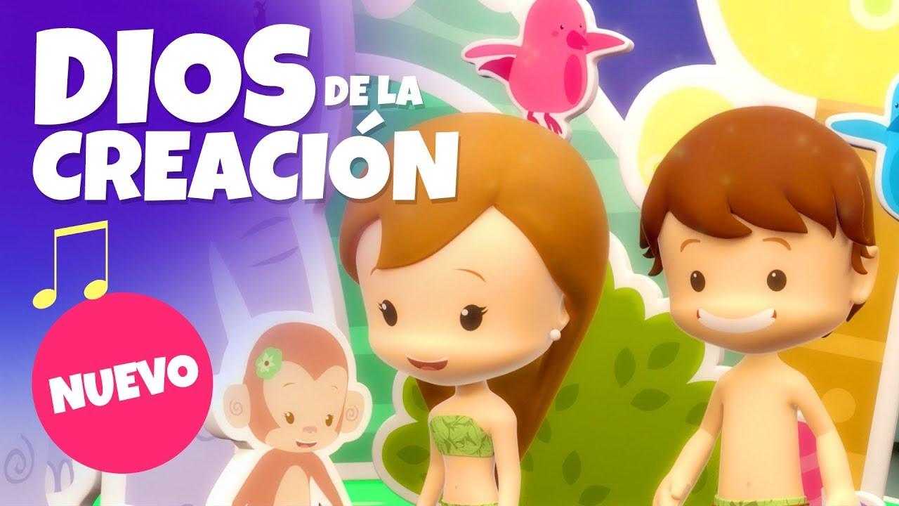 Dios De La Creacion Pequeños Heroes Cancion Infantil Youtube