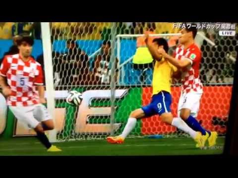 Brazil vs Croatia Penalty