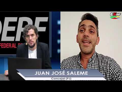 Juan José Saleme: Santa Fe Más Conectada es un plan revolucionario