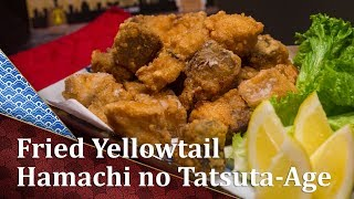 Hamachi Tatsuta-Age - Fried Yellowtail Tuna - Cooking Japanese Recipe