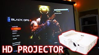Best HD Projector for Gaming and Movies: Optoma HD26 Review