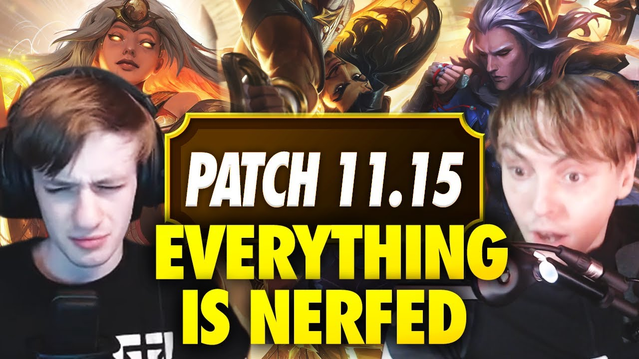 AKSHAN IS HERE! Reacting to HUGE NERFS with Nemesis | LS LoL PATCH NOTES 11.15 RUNDOWN