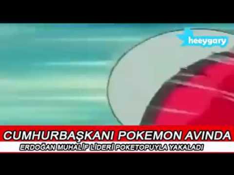 Cumhurbaşkanı Pokemon Avında