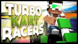 Minecraft: TURBO KART RACERS! - Minecraft Mini Game w/ Dinkys
