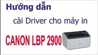 Cài Driver máy in Canon LPB 2900 Cho Win 8 32 và 64 bit