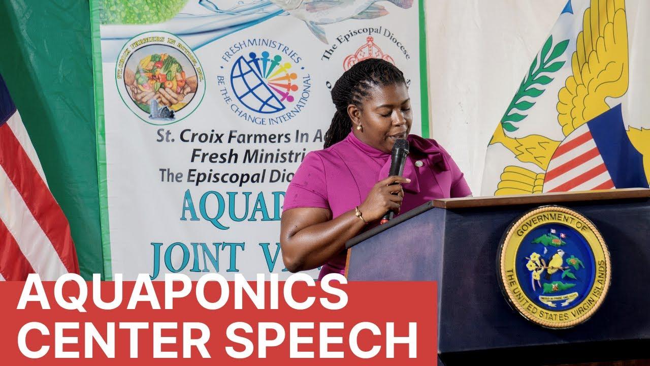 Aquaponics Speech