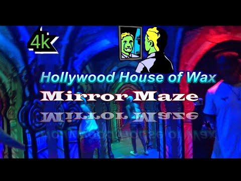 4k,Mirror  Maze,🙃 Myrtle Beach, South Carolina👽, Hannah's Maze of Mirrors