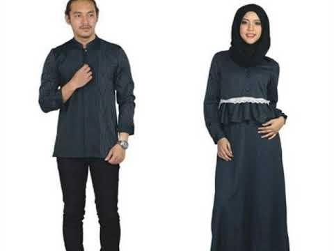 Model Baju Muslim Couple Terbaru
