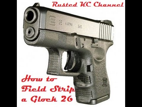 Doubt it. field strip a glock consider, that