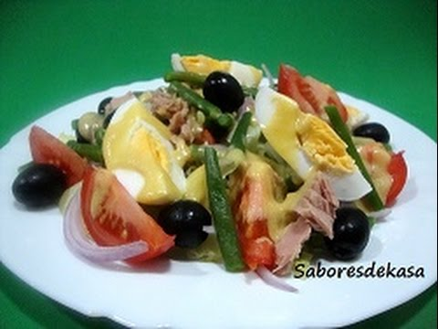Ensalada nicoise youtube for Ensaladas tipicas de francia