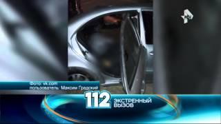 Пьяный водитель на BMW X5 протаранил такси, где была беременная
