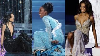 FAILS/FUNNY Moments on Miss Universe and Miss World