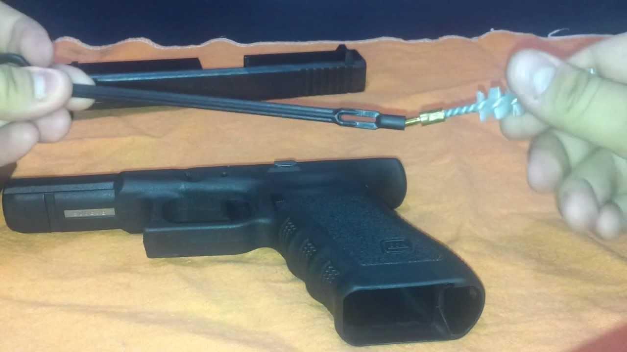 Glock 17 9mm Limpieza Desarme Cleaning Field Strip Youtube