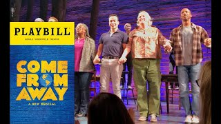 Come From Away Broadway Musical - Curtain Call 4/12/17