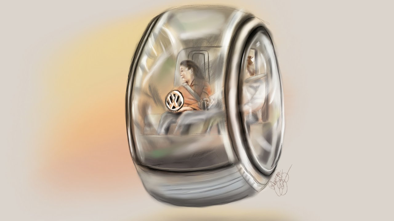 Future Car Drawing Challenge Day 88