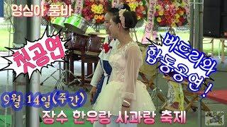 영심아 품바 🦋 장수 버드리와 합동공연 첫공연부터 대박 !